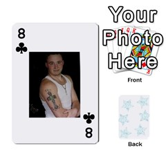 54  Photo Cards By Bonnie Peloquin   Playing Cards 54 Designs   2bz6u5o62qyq   Www Artscow Com Front - Club8