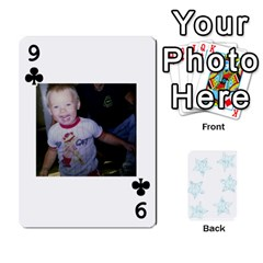 54  Photo Cards By Bonnie Peloquin   Playing Cards 54 Designs   2bz6u5o62qyq   Www Artscow Com Front - Club9