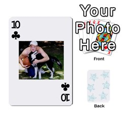 54  Photo Cards By Bonnie Peloquin   Playing Cards 54 Designs   2bz6u5o62qyq   Www Artscow Com Front - Club10