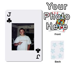 Jack 54  Photo Cards By Bonnie Peloquin   Playing Cards 54 Designs   2bz6u5o62qyq   Www Artscow Com Front - ClubJ