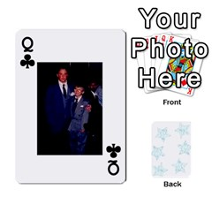 Queen 54  Photo Cards By Bonnie Peloquin   Playing Cards 54 Designs   2bz6u5o62qyq   Www Artscow Com Front - ClubQ