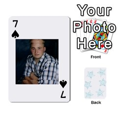 54  Photo Cards By Bonnie Peloquin   Playing Cards 54 Designs   2bz6u5o62qyq   Www Artscow Com Front - Spade7