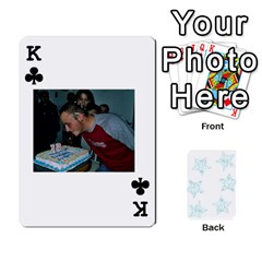 King 54  Photo Cards By Bonnie Peloquin   Playing Cards 54 Designs   2bz6u5o62qyq   Www Artscow Com Front - ClubK