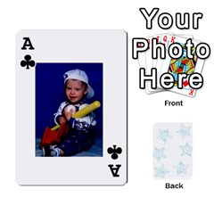 Ace 54  Photo Cards By Bonnie Peloquin   Playing Cards 54 Designs   2bz6u5o62qyq   Www Artscow Com Front - ClubA