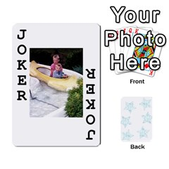 54  Photo Cards By Bonnie Peloquin   Playing Cards 54 Designs   2bz6u5o62qyq   Www Artscow Com Front - Joker1