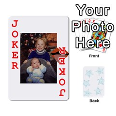 54  Photo Cards By Bonnie Peloquin   Playing Cards 54 Designs   2bz6u5o62qyq   Www Artscow Com Front - Joker2