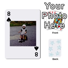 54  Photo Cards By Bonnie Peloquin   Playing Cards 54 Designs   2bz6u5o62qyq   Www Artscow Com Front - Spade8