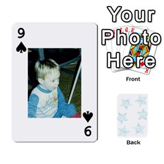 54  Photo Cards By Bonnie Peloquin   Playing Cards 54 Designs   2bz6u5o62qyq   Www Artscow Com Front - Spade9