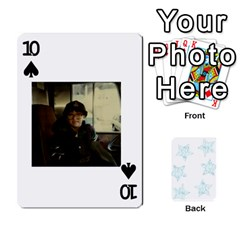 54  Photo Cards By Bonnie Peloquin   Playing Cards 54 Designs   2bz6u5o62qyq   Www Artscow Com Front - Spade10