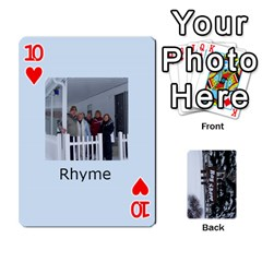 Kings Card Game  By Millie Kovatch   Playing Cards 54 Designs   8jltgzmziumx   Www Artscow Com Front - Heart10