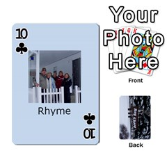 Kings Card Game  By Millie Kovatch   Playing Cards 54 Designs   8jltgzmziumx   Www Artscow Com Front - Club10