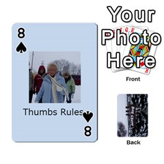 Kings Card Game  By Millie Kovatch   Playing Cards 54 Designs   8jltgzmziumx   Www Artscow Com Front - Spade8