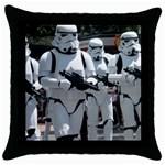 Storm Trooper Throw Pillow - Throw Pillow Case (Black)
