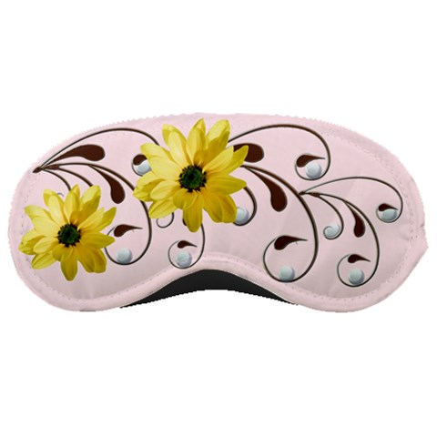 Floral Relaxation By Alana   Sleeping Mask   249s46wjgc4x   Www Artscow Com Front