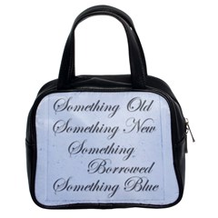 Old New Borrowed Blue Brides Handbag By Catvinnat   Classic Handbag (two Sides)   Qyz0hkb667yj   Www Artscow Com Front