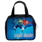 Cool Dude Pool Handbag - Classic Handbag (Two Sides)