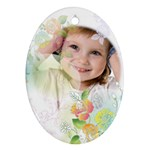 Flower Kids - Ornament (Oval)