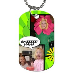 Haha Dog Tag 3  By Kimswhims   Dog Tag (two Sides)   Drdylhdd0kpb   Www Artscow Com Front