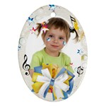 happy kids - Ornament (Oval)
