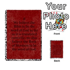 Article Of Faith  Prophets By Thehutchbunch Fuse Net   Multi Purpose Cards (rectangle)   Tsev4ux1p1mn   Www Artscow Com Front 8