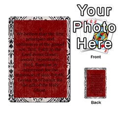 Article Of Faith  Prophets By Thehutchbunch Fuse Net   Multi Purpose Cards (rectangle)   Tsev4ux1p1mn   Www Artscow Com Front 4