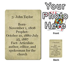Article Of Faith  Prophets By Thehutchbunch Fuse Net   Multi Purpose Cards (rectangle)   Tsev4ux1p1mn   Www Artscow Com Back 35