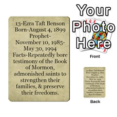 Article Of Faith  Prophets By Thehutchbunch Fuse Net   Multi Purpose Cards (rectangle)   Tsev4ux1p1mn   Www Artscow Com Back 45