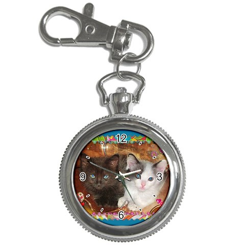 Kittens Watch By Nancyb   Key Chain Watch   Yfluub5plb49   Www Artscow Com Front