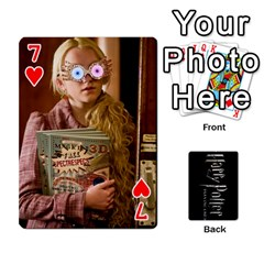 Harry Potter Playing Cards By Mark C Petzold   Playing Cards 54 Designs   41vwjvfrukj9   Www Artscow Com Front - Heart7
