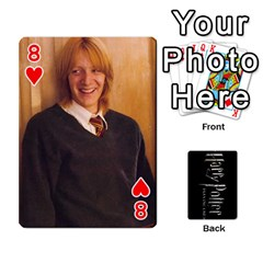 Harry Potter Playing Cards By Mark C Petzold   Playing Cards 54 Designs   41vwjvfrukj9   Www Artscow Com Front - Heart8