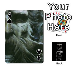 Harry Potter Playing Cards By Mark C Petzold   Playing Cards 54 Designs   41vwjvfrukj9   Www Artscow Com Front - Spade4
