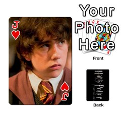 Jack Harry Potter Playing Cards By Mark C Petzold   Playing Cards 54 Designs   41vwjvfrukj9   Www Artscow Com Front - HeartJ