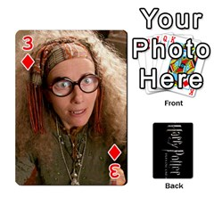 Harry Potter Playing Cards By Mark C Petzold   Playing Cards 54 Designs   41vwjvfrukj9   Www Artscow Com Front - Diamond3