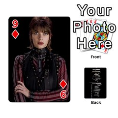 Harry Potter Playing Cards By Mark C Petzold   Playing Cards 54 Designs   41vwjvfrukj9   Www Artscow Com Front - Diamond9