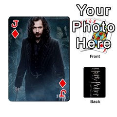 Jack Harry Potter Playing Cards By Mark C Petzold   Playing Cards 54 Designs   41vwjvfrukj9   Www Artscow Com Front - DiamondJ