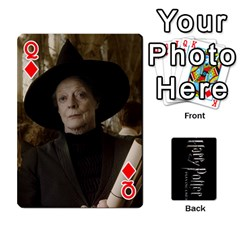 Queen Harry Potter Playing Cards By Mark C Petzold   Playing Cards 54 Designs   41vwjvfrukj9   Www Artscow Com Front - DiamondQ