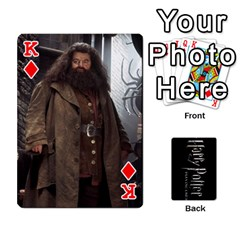 King Harry Potter Playing Cards By Mark C Petzold   Playing Cards 54 Designs   41vwjvfrukj9   Www Artscow Com Front - DiamondK