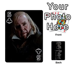 Harry Potter Playing Cards By Mark C Petzold   Playing Cards 54 Designs   41vwjvfrukj9   Www Artscow Com Front - Club5