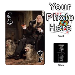 Jack Harry Potter Playing Cards By Mark C Petzold   Playing Cards 54 Designs   41vwjvfrukj9   Www Artscow Com Front - ClubJ