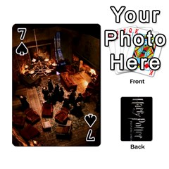 Harry Potter Playing Cards By Mark C Petzold   Playing Cards 54 Designs   41vwjvfrukj9   Www Artscow Com Front - Spade7