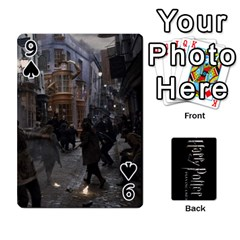 Harry Potter Playing Cards By Mark C Petzold   Playing Cards 54 Designs   41vwjvfrukj9   Www Artscow Com Front - Spade9