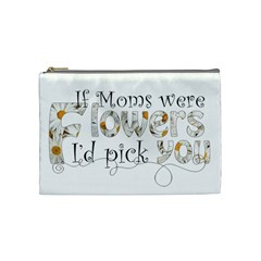Mothers Day Cosmetic Bag By Catvinnat   Cosmetic Bag (medium)   Fegoqc62vehb   Www Artscow Com Front