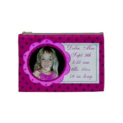Baby Girl By Brookieadkins Yahoo Com   Cosmetic Bag (medium)   Qfjsavjv5bh8   Www Artscow Com Front