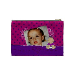 Baby Girl By Brookieadkins Yahoo Com   Cosmetic Bag (medium)   Qfjsavjv5bh8   Www Artscow Com Back