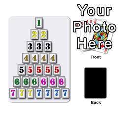 Ace Black Vienna 3  Tres Letras, Trasera Negra  By Doom18   Playing Cards 54 Designs   8ppaudv3zww4   Www Artscow Com Front - DiamondA