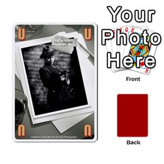 Black Vienna 1  Una Letra, Trasera Roja  By Doom18   Playing Cards 54 Designs   Dlcjlrcli3lc   Www Artscow Com Front - Spade3