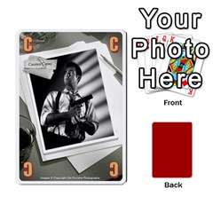 Black Vienna 1  Una Letra, Trasera Roja  By Doom18   Playing Cards 54 Designs   Dlcjlrcli3lc   Www Artscow Com Front - Heart3