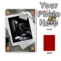Black Vienna 1  Una Letra, Trasera Roja  By Doom18   Playing Cards 54 Designs   Dlcjlrcli3lc   Www Artscow Com Front - Heart5