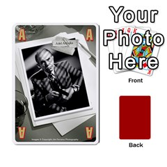Black Vienna 1  Una Letra, Trasera Roja  By Doom18   Playing Cards 54 Designs   Dlcjlrcli3lc   Www Artscow Com Front - Diamond3