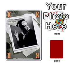 Black Vienna 1  Una Letra, Trasera Roja  By Doom18   Playing Cards 54 Designs   Dlcjlrcli3lc   Www Artscow Com Front - Spade9